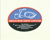 Decal, American Motor ScooterS