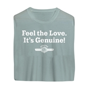T-Shirt Feel The Love, It's Genuine!S