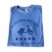 T-Shirt Scooters Highly Recommended
