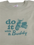 T-Shirt (Do It With a Buddy, Beige)S