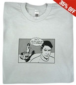T-Shirt (Comic, Grey)S