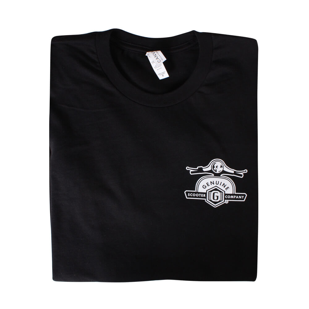 T-Shirt Genuine Scooters Blk