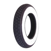 Tire, Continental Whitewall 3.00 x 10S