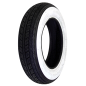 Tire, Shinko Whitewall 3.50 x 8S
