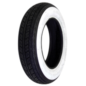 Tire, Shinko Whitewall 3.00 x 10S
