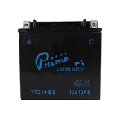 Battery, TX14-BS Prima -  500cc KymcoS