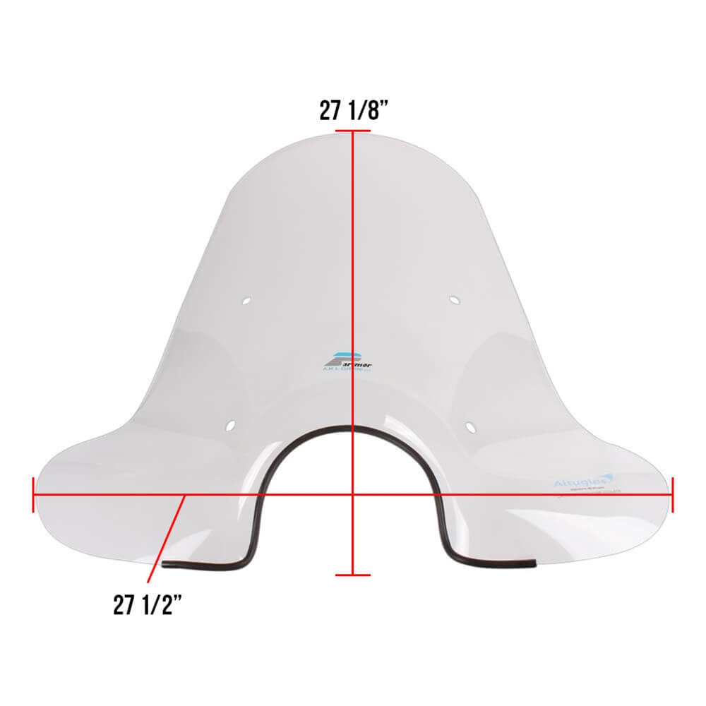 Cuppini Windscreen Dimensions