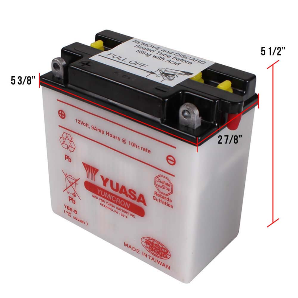 Stella Battery Dimensions