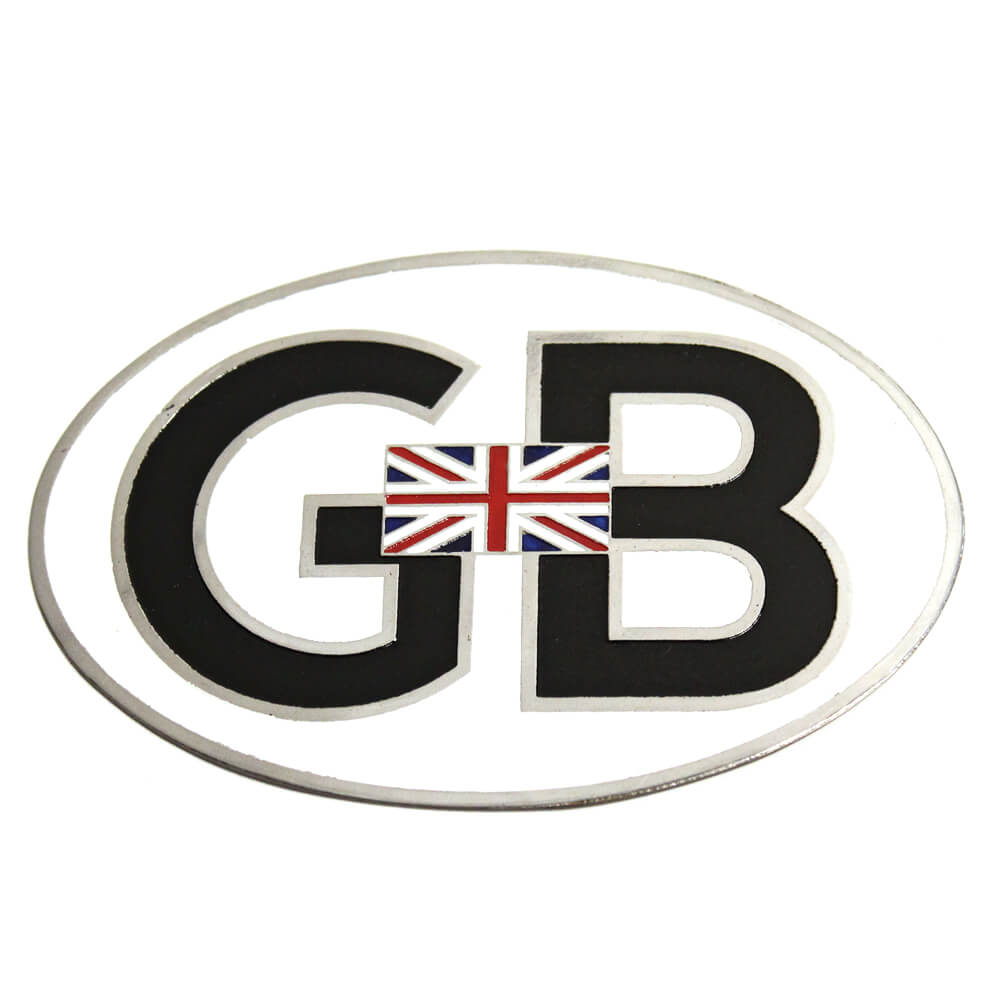 GB Oval Union Jack Badge