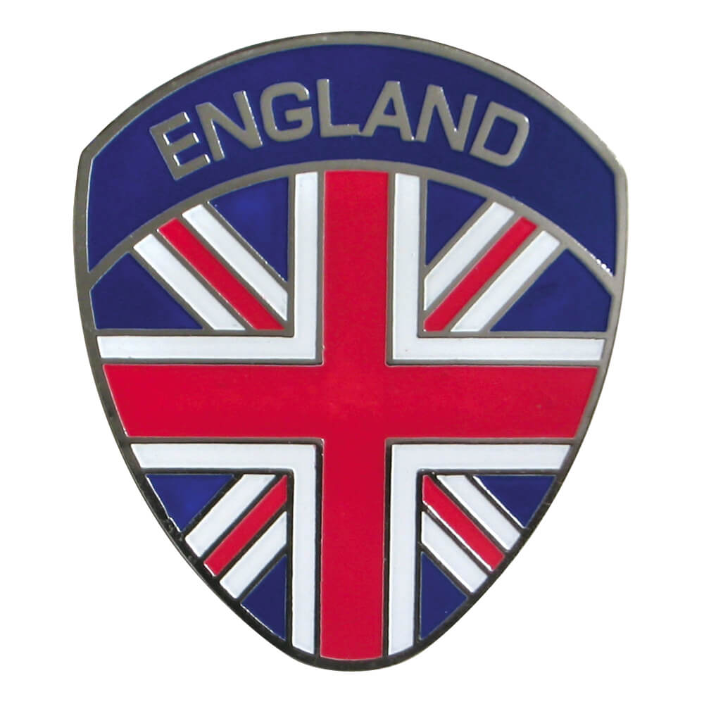 England Flag Oval Badge