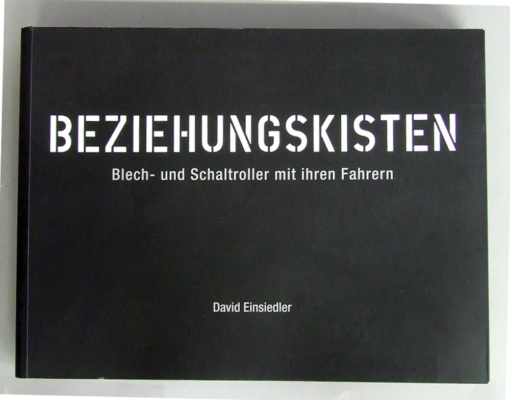 Beziehungskisten Book (Photos of Scooterists)