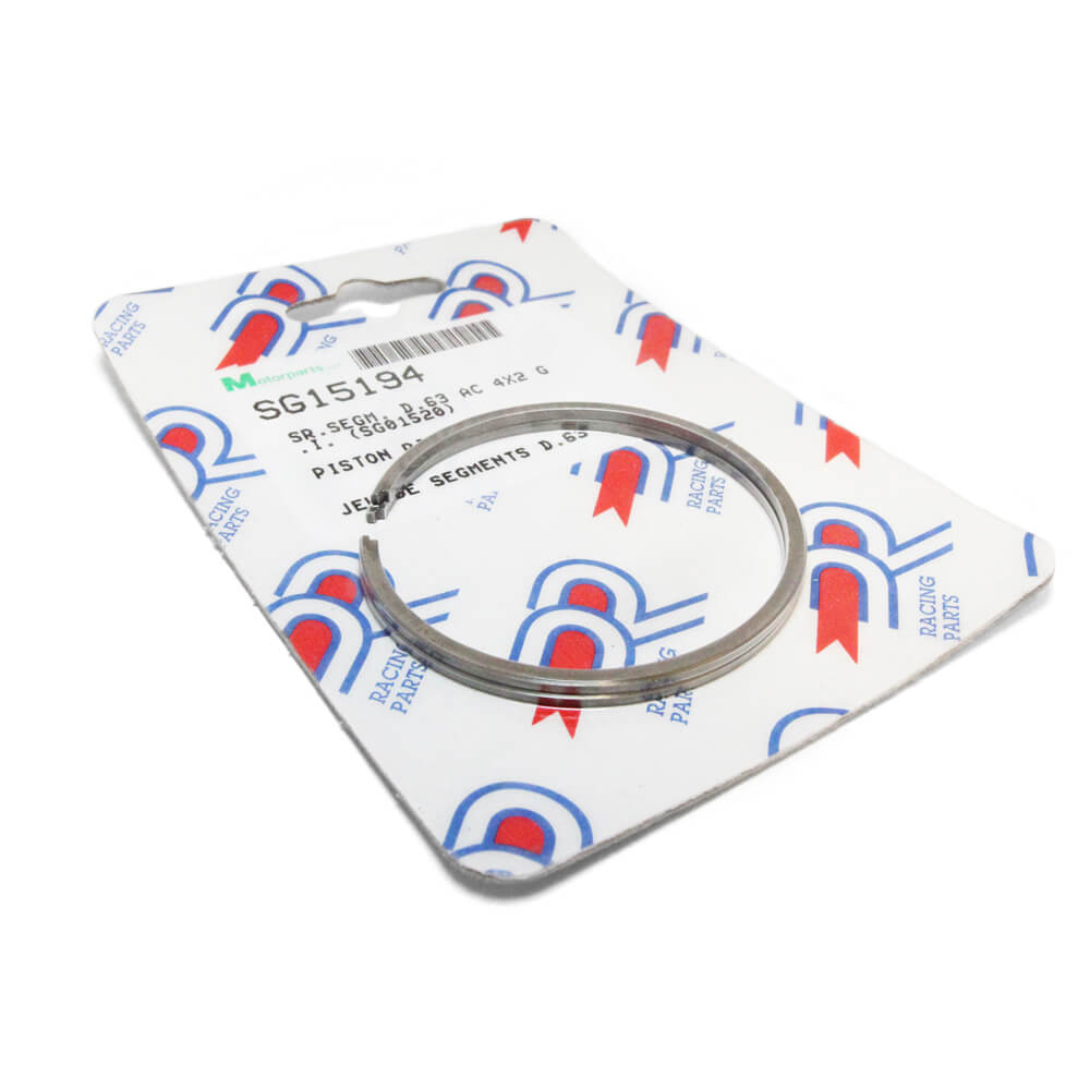 DR Piston Rings (63.0 mm); Vespa P/PX, Genuine Stella