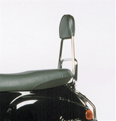 Cuppini Backrest (Fits Cuppini Rear Racks); Vespa ET, LXS