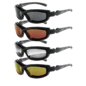 Bobster, Roadhog II Riding Glasses (Interchangeable Lenses)S