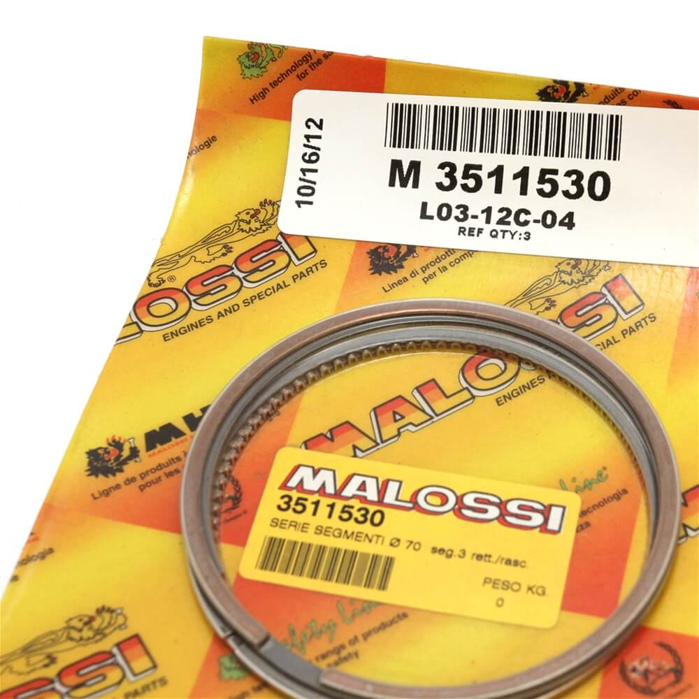 Vespa LX Piston Ring Package Closeup