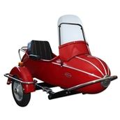 "Sidecar (10"" Wheel, Rocket); Vespa Large Frame, Stella"