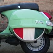 Spare Tire Cover (Italian/Mexican Flag, 10