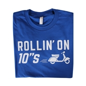 T-Shirt Rolling on 10