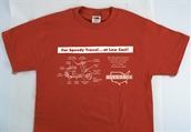 T-Shirt (Allstate, Red)S