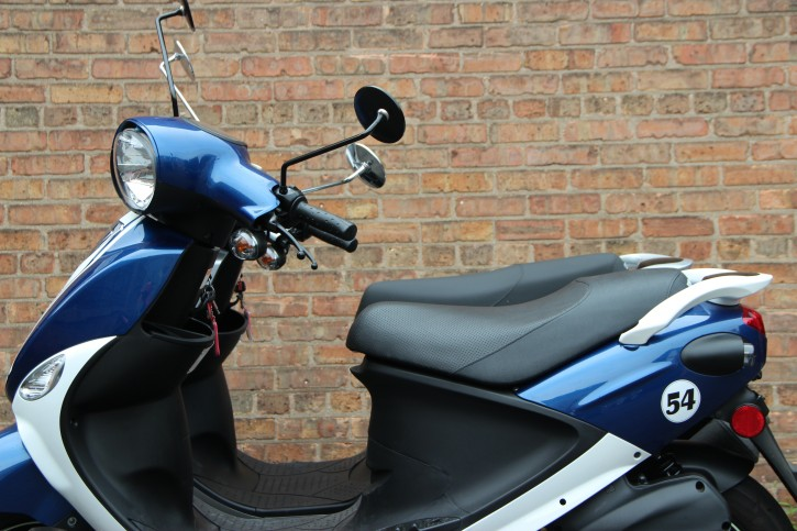 Lower the seat height on your Genuine Scooter up to three inches.