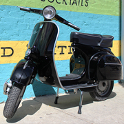 Completely reworked Vespa with a new engine and a new lease on life
